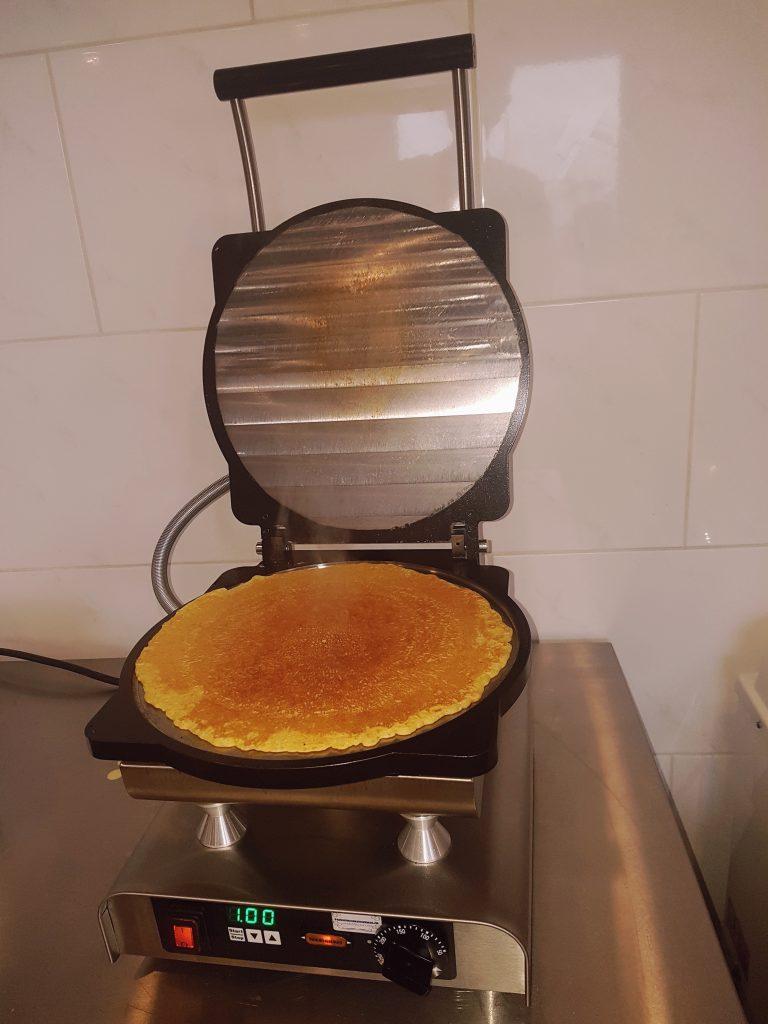 Pannenkoekenmachine